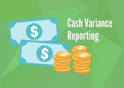 Cash Variance Reporting