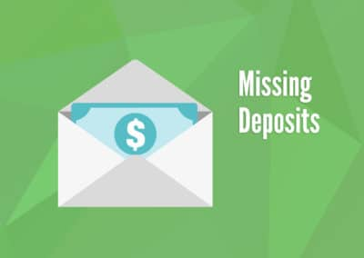 Missing Deposits