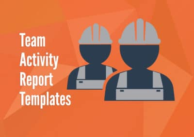 Team Activity Report Templates