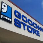 Goodwill store sign